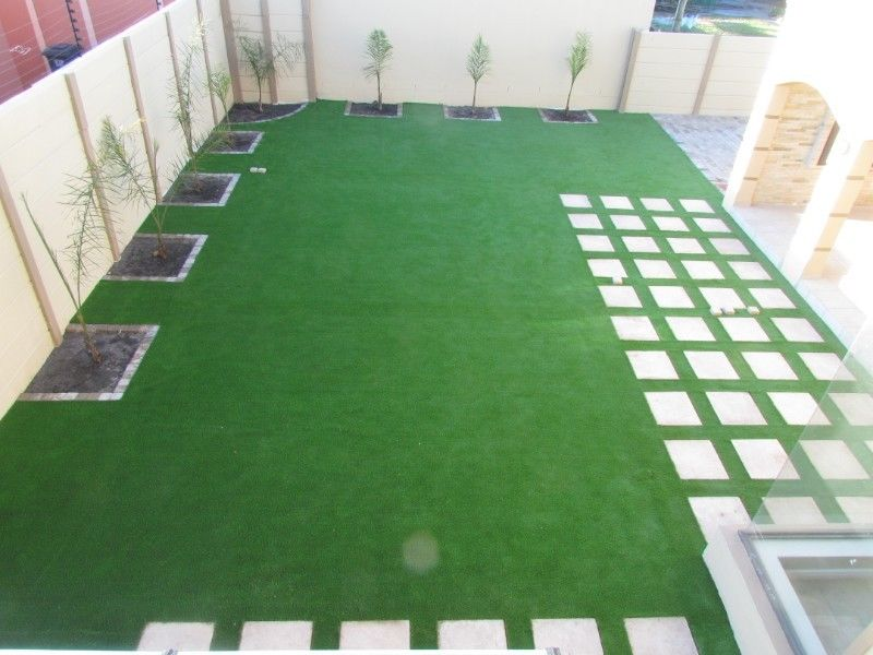 Artificial Grass Installers Natural Roll On Turf Lawn
